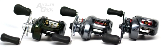 Shimano_Chronarch_CI4+_150HG_Front_Comparison