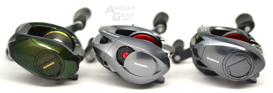 Shimano_Chronarch_CI4+_150HG_Palm_Side_Comparison
