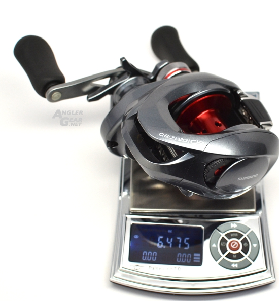 Shimano_Chronarch_CI4+_150HG_Weight