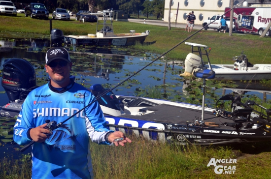 ICAST_2014_Tacklex_Shimano_Miles_Burghoff