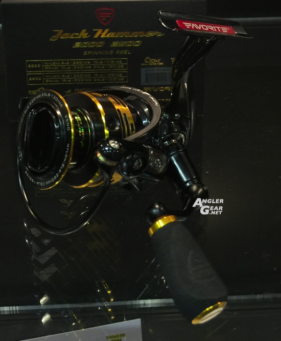 ICAST_2016_New_Product_Showcase_Favorite_Jack_Hammer_Spinning_Reel