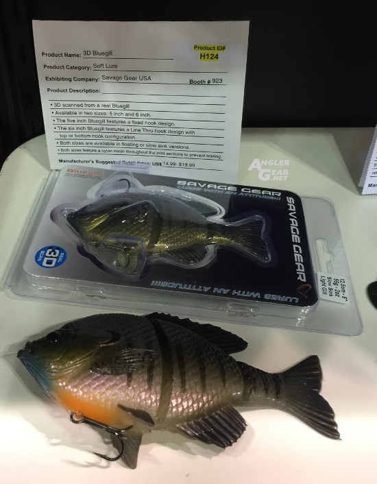 ICAST_2016_New_Product_Showcase_Savage_Gear_3D_Bluegill